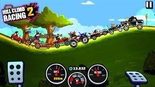 ВЫЗОВЫ - Машинки Hill Climb Racing 2 секреты прохождение / видео для детей