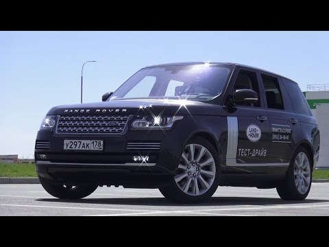 2015 Land Rover Range Rover 4.4 SD AT Vogue SE. Обзор (интер