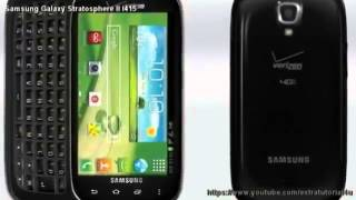 Samsung Galaxy Stratosphere II I415 Review and Specs372