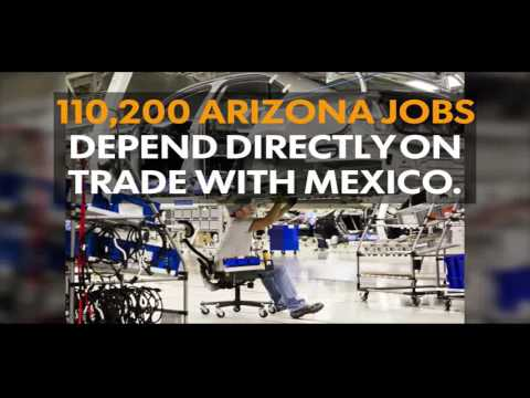 What Arizona gets from trade with Mexico