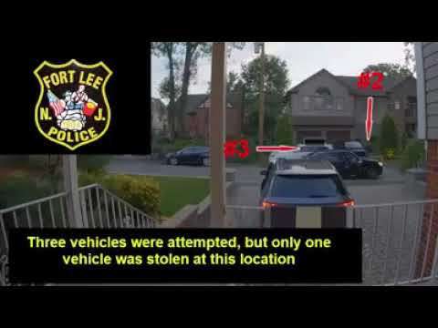 VIDEO: How Thieves Steal Unlocked Vehicles In Hudson County, Elsewhere