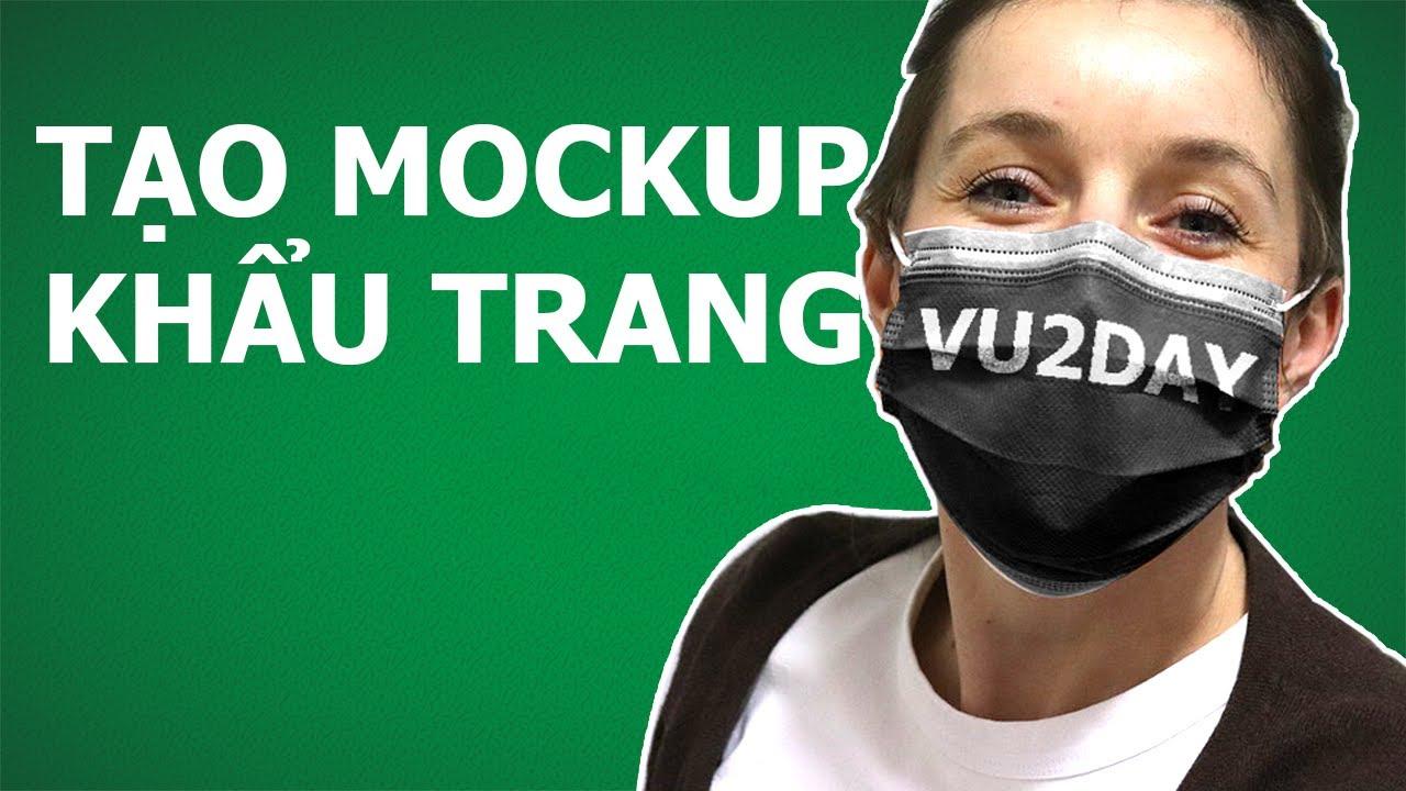 VU2DAY – [Case Study] Tạo Mockup Khẩu Trang POD Để Chạy Quảng Cáo