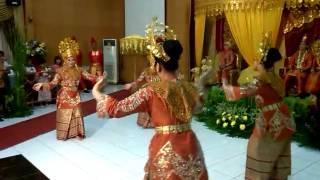 tari kreasi Zapin Beradat Melayu
