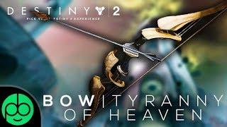 Desitny 2 Forsaken: Last Wish Masterwork Bow Tyranny Of Heaven