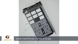 "SCSI4ME® 3.5"" SAS SATAU Drive Carrier Tray Sled Caddy for Dell Poweredge R720, R720xd, R630, R730,"