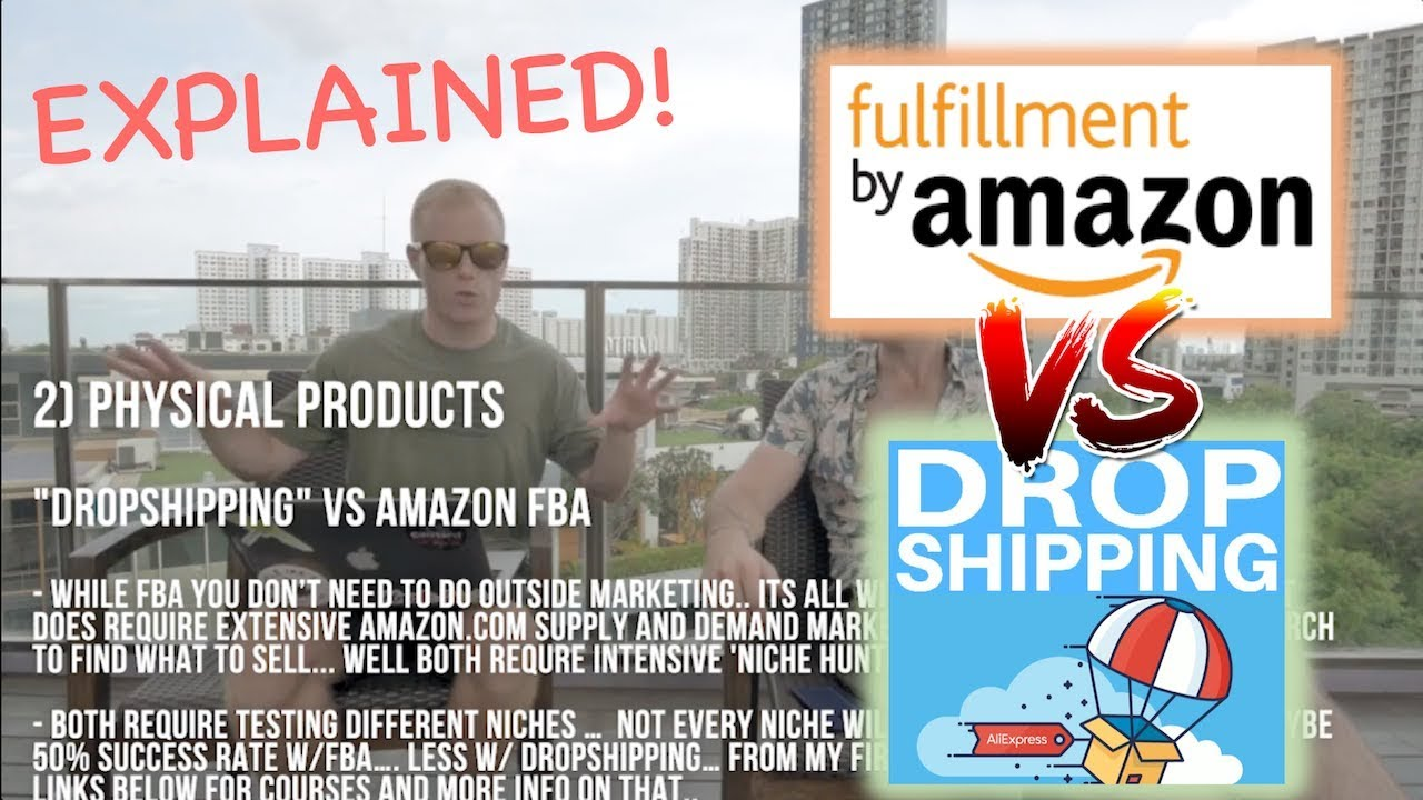 Amazon FBA vs Drop Shipping EXPLAINED! [Pros & Cons: Private Label vs Shopify to Make Money Onli