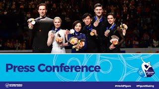 ISU World Figure Skating Championships 2019, Press Conference: Pairs Final