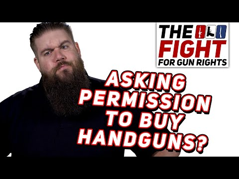 Permits to Buy Handguns?! - The Fight for Gun Rights