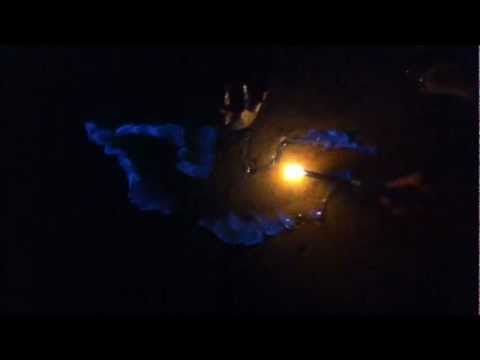Batman Symbol Lit On Fire Using Hand Sanitizer Totally Awesome