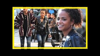 [ HOT NEW ]Christina milian steps out with new boyfriend matt pokora