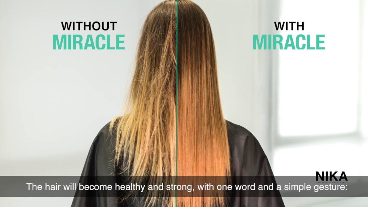 péndulo ligero Específico  Nika Kperfection - MIRACLE, la prima ricostruzione spray senza risciacquo -  YouTube