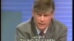Keskustelua Neuvostoliiton vallankaappauksesta 20.8.1991