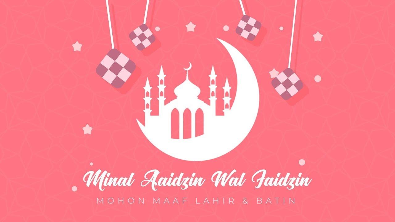 Video Ucapan Selamat Hari Raya Idul Fitri 2019 1440 H Kode
