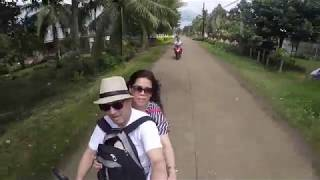 Bohol scooter ride