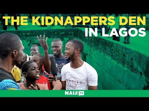 NAIJ.com visits kidnappers' den discovered in Lagos | Legit TV