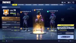 Fortnite HIGH EXPLOSIVES SQUAD Gameplay 30+ Wins $100 V-Bucks Giveaway *NEW DARK VANGUARD Skin*