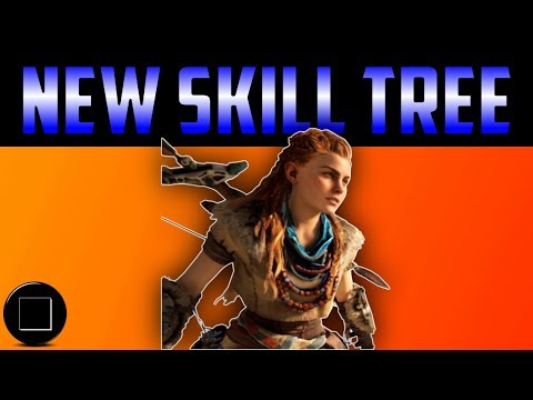 Horizon Zero Dawn - Frozen Wilds Skill Tree