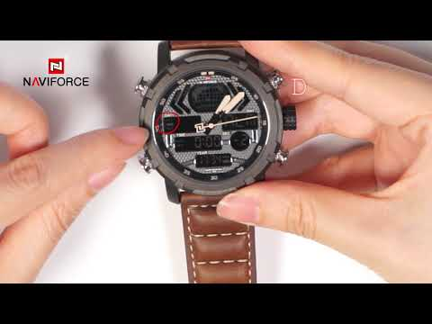 NAVIFORCE NF9160 How To Adjust The Different Modes Of Digital Watch?