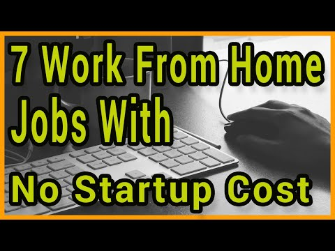 7 Work From Home Jobs With No Startup Cost thumbnail