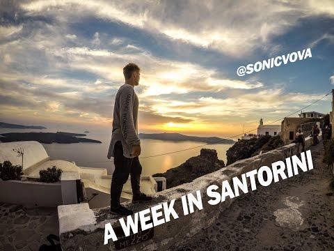 How I enjoyed Santorini