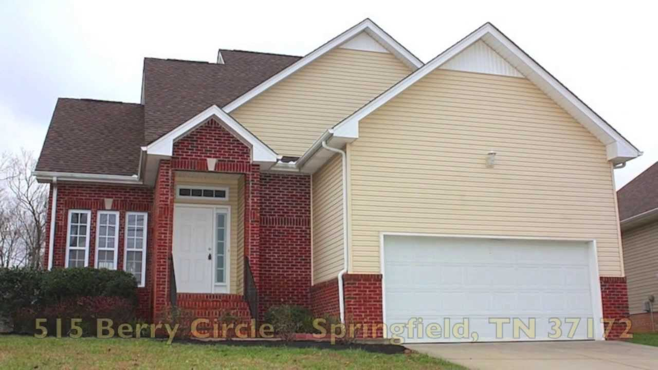 Tennessee robertson county springfield - Robertson County Real Estate 515 Berry Circle Springfield Tn 37172