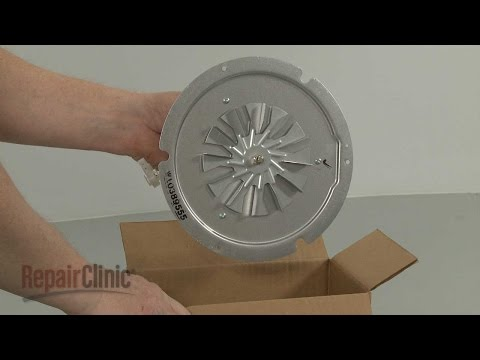 Convection Fan Assembly - Whirlpool Electric Range