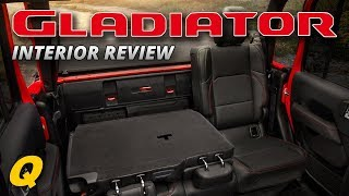 Jeep Gladiator JT Truck Interior Review