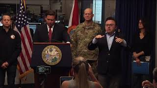 Gov. DeSantis discusses expansion of testing sites, executive orders, and increase in COVID-19 cases