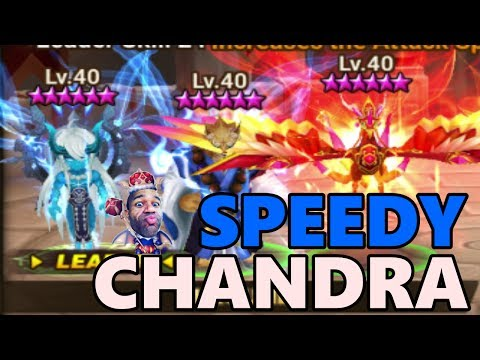 225+ SPD Chandra GWD! G3 Guild  War Battle vs Oblivion!