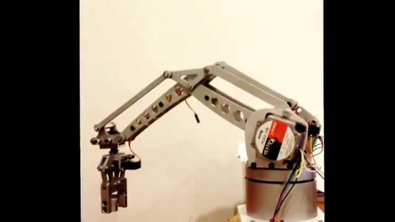 ROBOT Arm step motor drive test