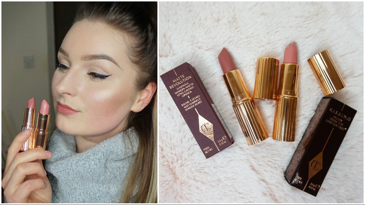NEW Charlotte Tilbury Lipsticks I Valentine And Pillow