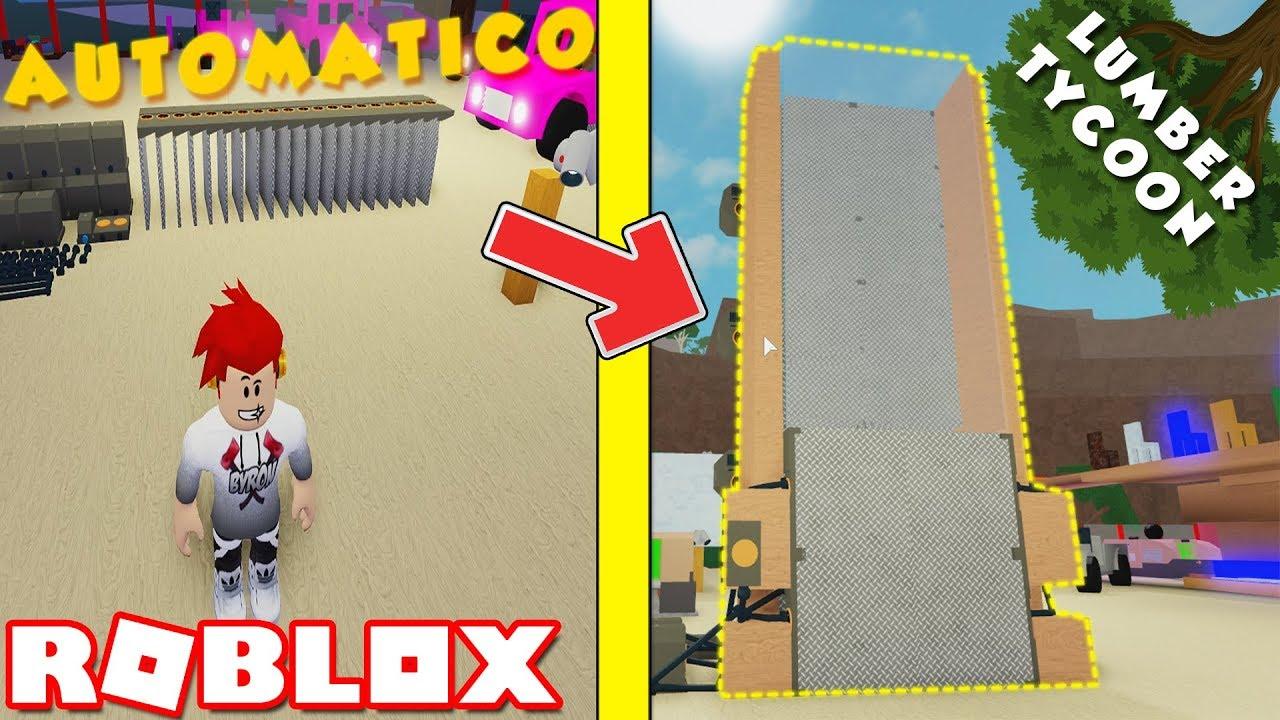 Roblox -  O INCRÍVEL ELEVADOR AUTOMÁTICO ( Lumber Tycoon 2 )