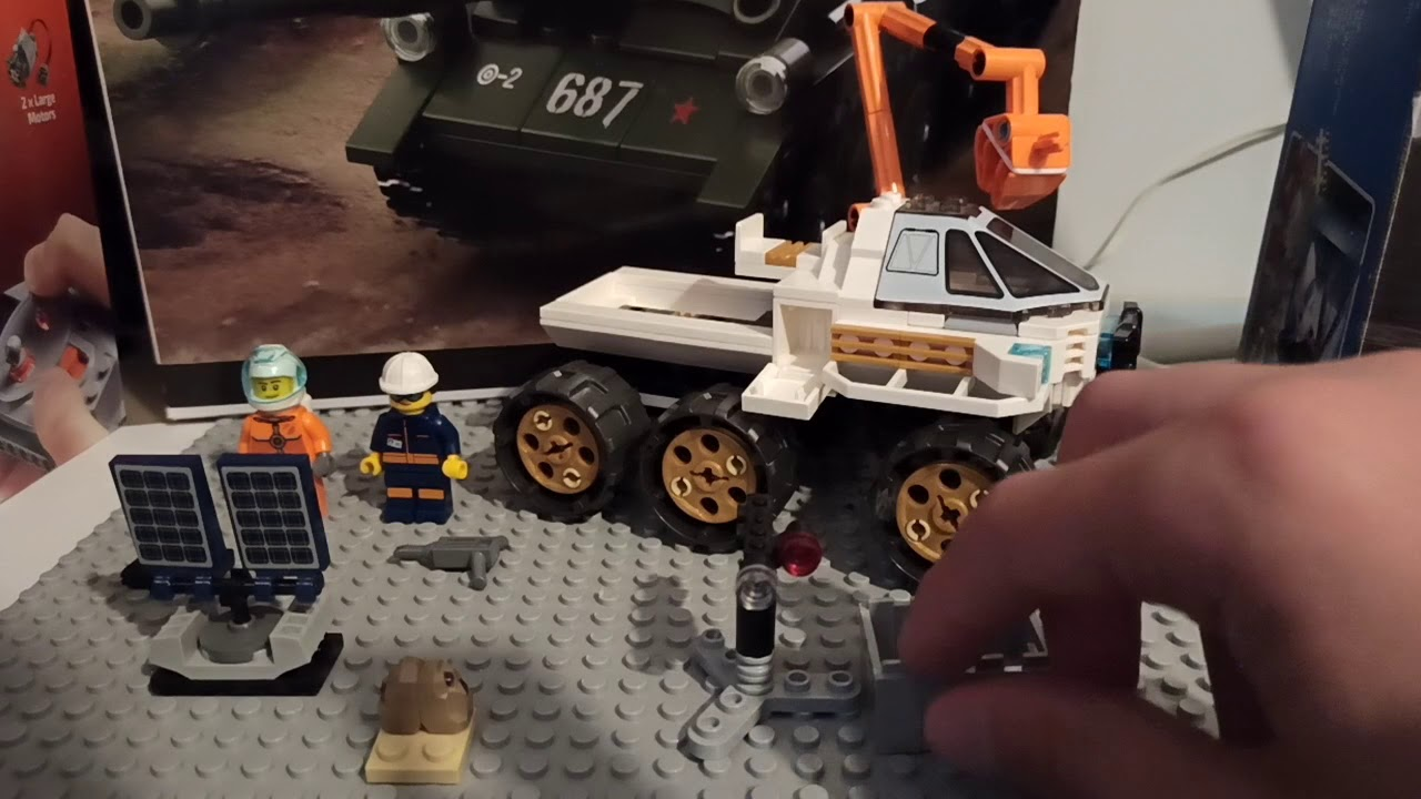 Лего сити космонавтика - YouTube