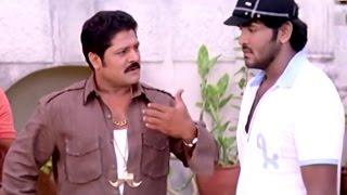 Vishnu & Srihari Hilarious Comedy Scene    Dhee Movie    Vishnu, Genelia