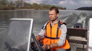 Алюминиевая моторная лодка катер Wyatboat 430 DCM Вятбот с мотором Yamaha 40 XWS(Алюминиевая моторная лодка (катер) Wyatboat 430 DCM (Вятбот) с мотором Yamaha 40 XWS. Приобрести такую лодку Вы всегда..., 2015-06-04T06:14:08.000Z)