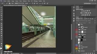 Atelier créatif avec Photoshop : Pluie de météorites : trailer | video2brain.com