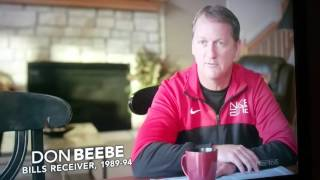 NFL RIGGED... Don Beebe slips up and struggles to 'correct' himself.