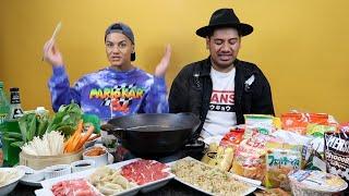 Japanese mukbang & trying Japanese snacks