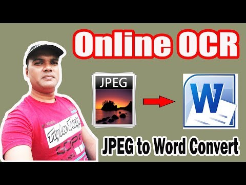 Free Online OCR JPEG to Word