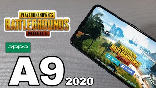 OPPO A9 2020 TestGame PUBG MOBILE