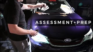 WRX Detailing Series: E4 - Taping and Initial Assessment