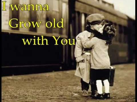 I wanna grow old with you(chipmunks)