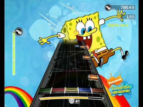 FretsOnFire - spongebob - goofy goober rock (with lyrics !)