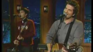 "Matt Nathanson ""Come On Get Higher"" live on Late Late Show"