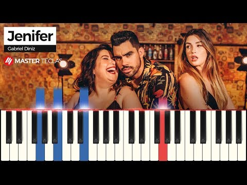 💎 Jenifer - Gabriel Diniz  Piano Tutorial 💎