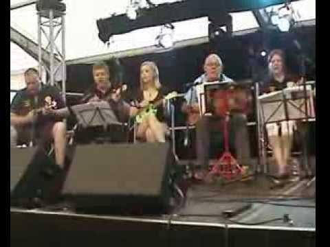 Palmerston Ukelele Band at Peterborough Beer Festival 2013