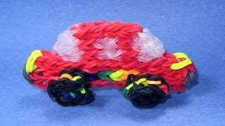 Rainbow Loom Charms: CAR (DIY Mommy)