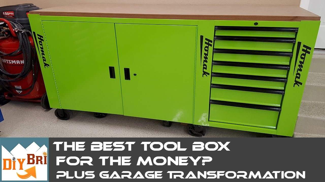 Who Makes The Best Tool Chest For The Money? | Garage Transformation