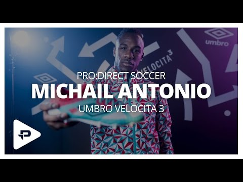 Umbro Velocita³ Launch with Michail Antonio: Behind The Scenes