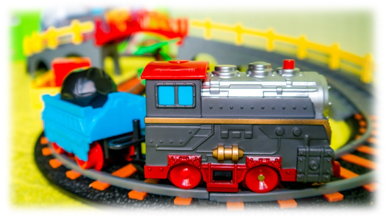 Video For Children Railway Merry Trip Toy Train And